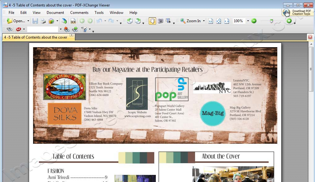 PDF-Xchange Viewer - PDF Conversion used by Jcyberinux