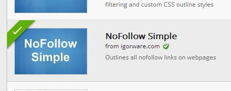 How to find if the nofollow and dofollow on rel attribute