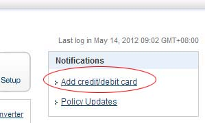 Verify your PayPal Account using Credit or Debit Card