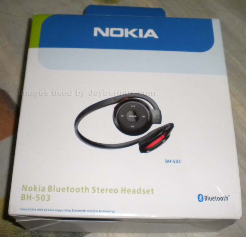 Nokia Bluetooth Stereo Headset BH-503 by Jcyberinux