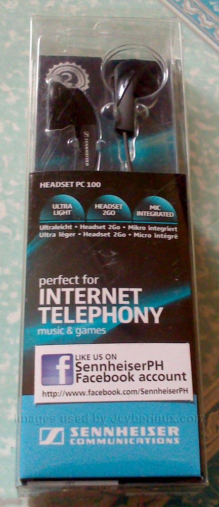 Sennheiser PC 100 In-Ear Headset by Jcyberinux