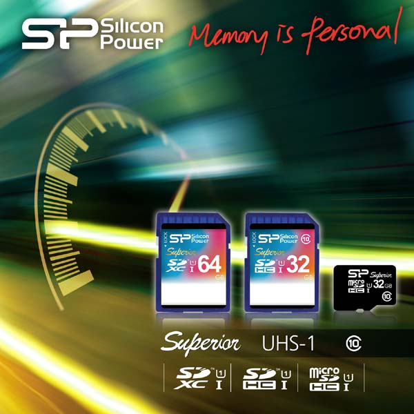 Silicon Power SD Card UHS-1 Series