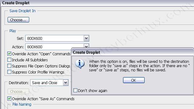 Adobe Photoshop Batch Mode Automate Image Process