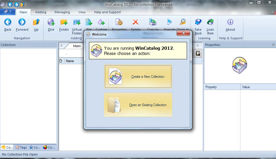 WinCatalog Media and Disk Drive Cataloging Software