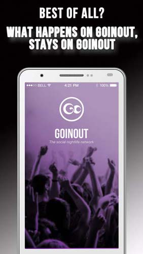 Goinout - Social Nightlife Network App for iOS and Android