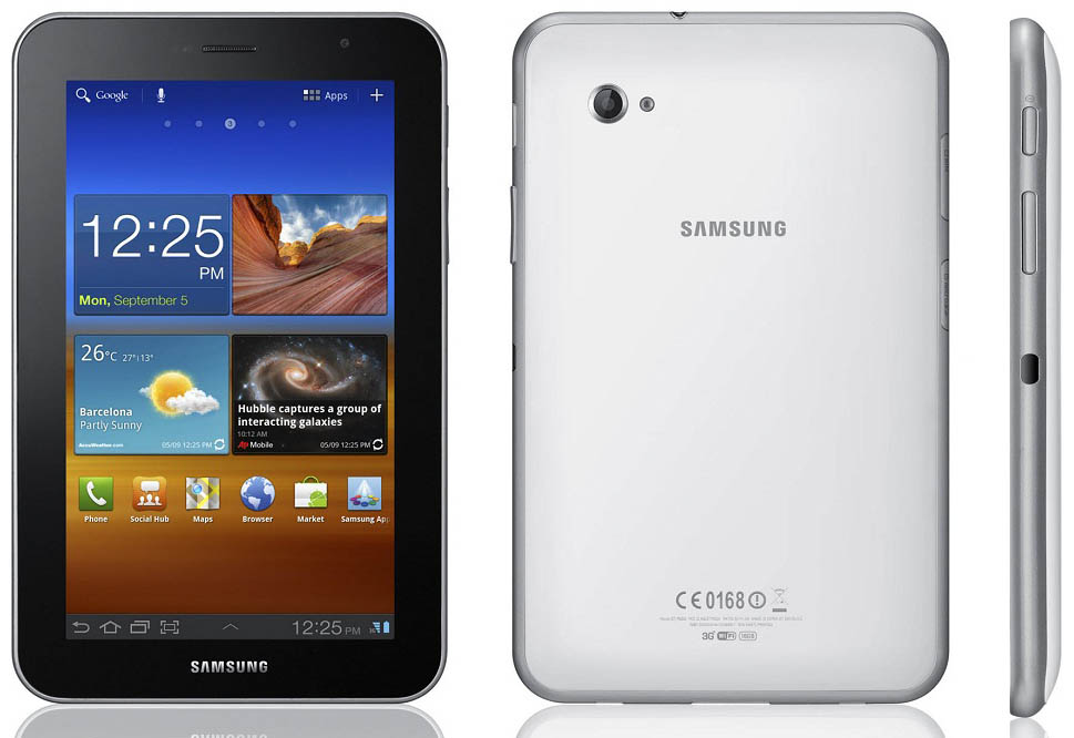 Samsung Galaxy Tab 7.0 Plus by Jcyberinux