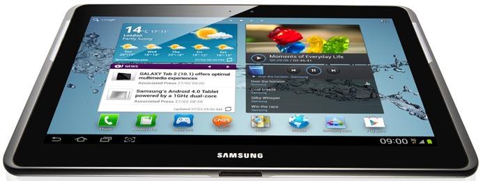 Samsung Galaxy Tab 2 10.1 P5100 by Jcyberinux