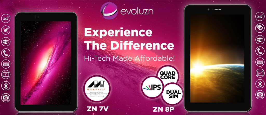 EVOLUZN ZN 7V and ZN 8P