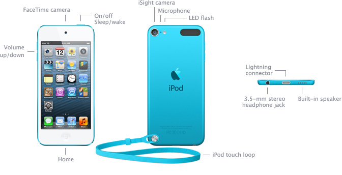 ipod touch 5th generation review specifications features
