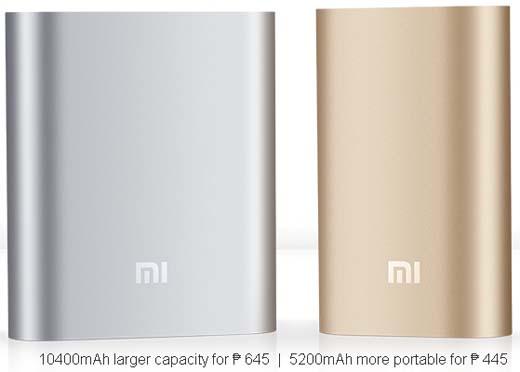 Mi 5200 and 10400 mAh Power Banks