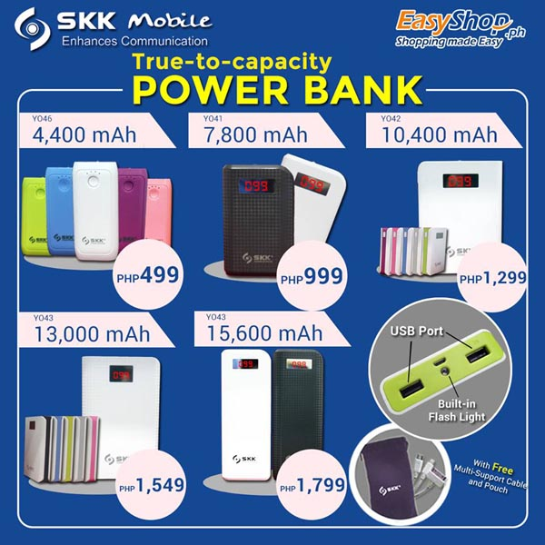 SKK Mobile Power Banks