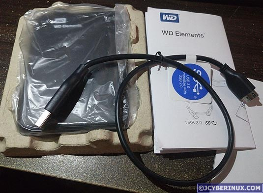 WD Elements 1TB USB 3.0 Portable Drive