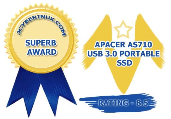 Apacer AS710 USB 3.0 Portable SSD