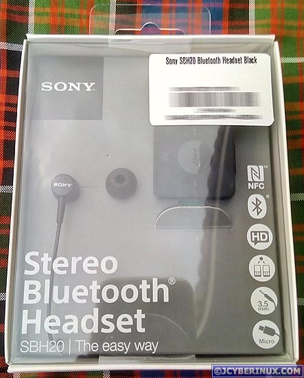 unbox review sony stereo bluetooth headset sbh20 jcyberinux. Black Bedroom Furniture Sets. Home Design Ideas
