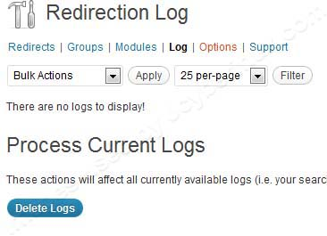 Redirection WordPress Plugin for 301, 404 errors