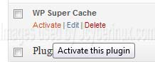WP Super Cache Plugin to Optimize your WordPress Blog