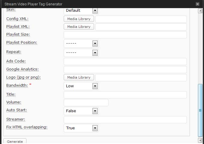 Embedding FLV and other Videos on WordPress