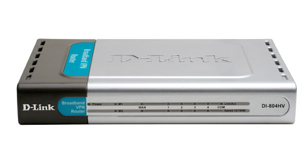 WIRED NETWORK ROUTER – D-LINK DI-804HV 4-PORT BROADBAND VPN ROUTER