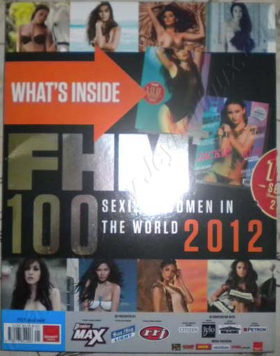 FHM 100 Sexiest Women in the World 2012 Philippines Complete List