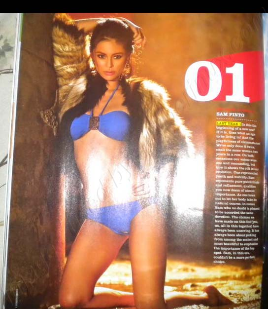 Sam Pinto - FHM 100 Sexiest Women in the World 2012 Philippines Complete List