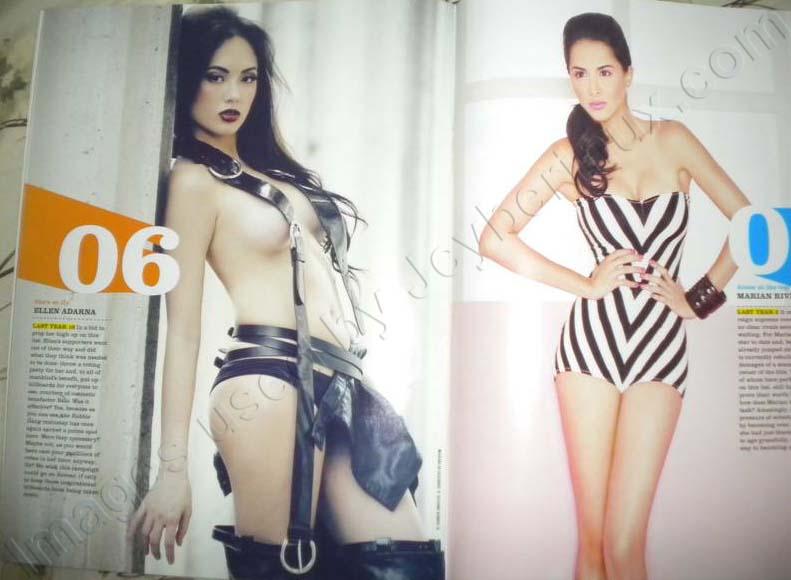 Marian Rivera - Ellen Adarna - FHM 100 Sexiest Women in the World 2012 Philippines Complete List