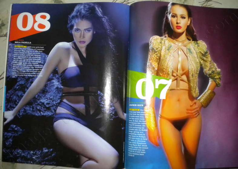 Jackie Rice - Bela Padilla - FHM 100 Sexiest Women in the World 2012 Philippines Complete List