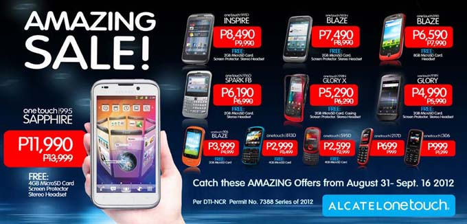 The Alcatel Amazing Sale by Jcyberinux