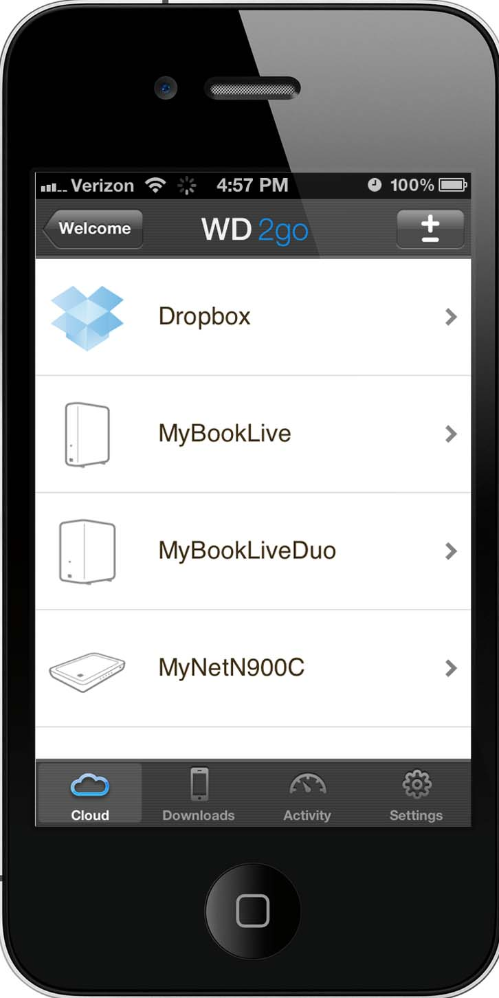 WD 2go Mobile App and Dropbox for Personal Cloud Solution