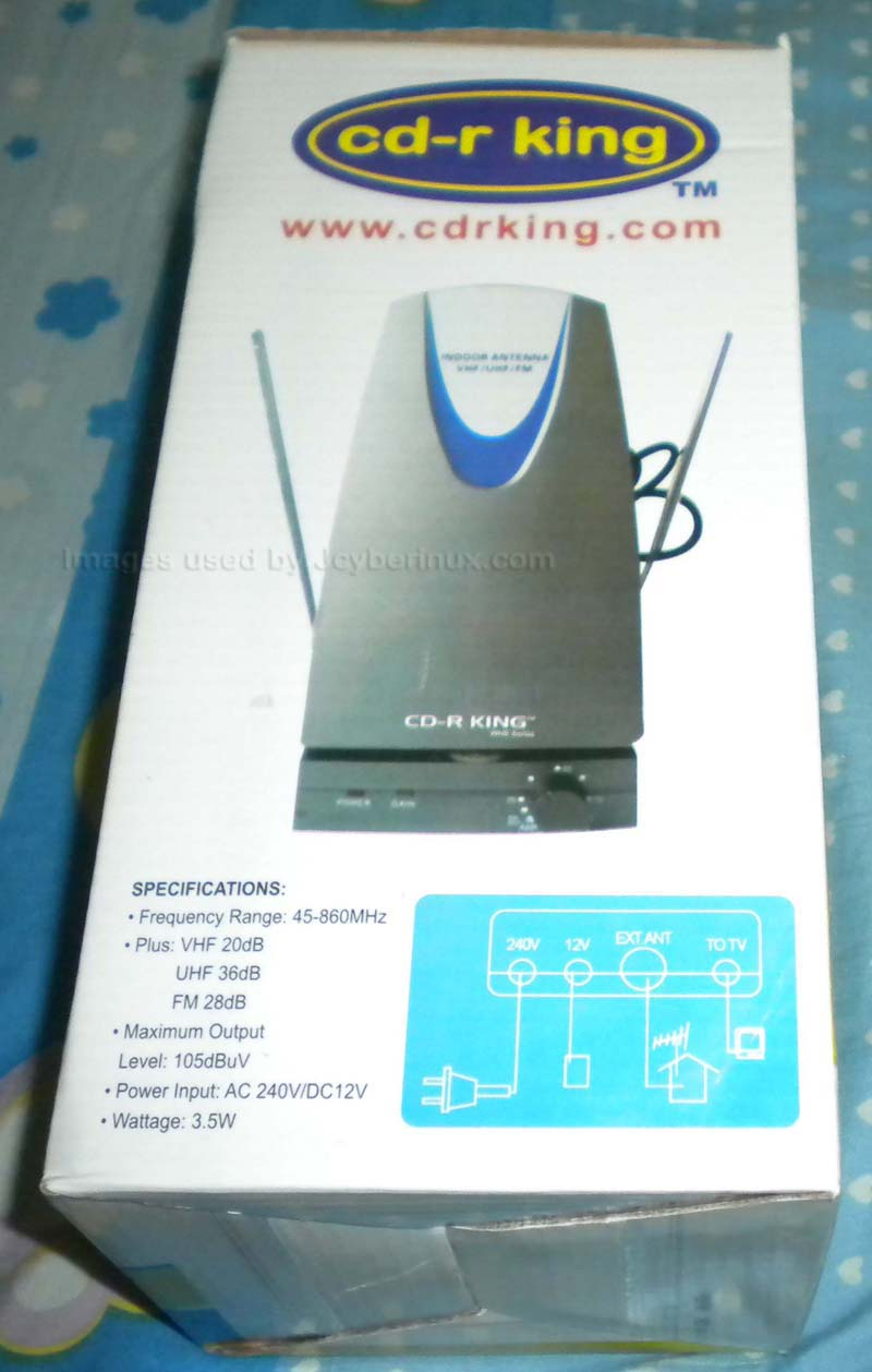 CD-R King Affordable External TV Box and Antenna | Jcyberinux