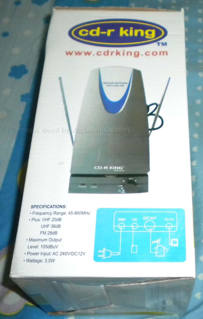CD-R King Indoor TV Antenna