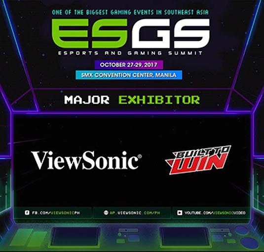 ViewSonic, ESGS 2017