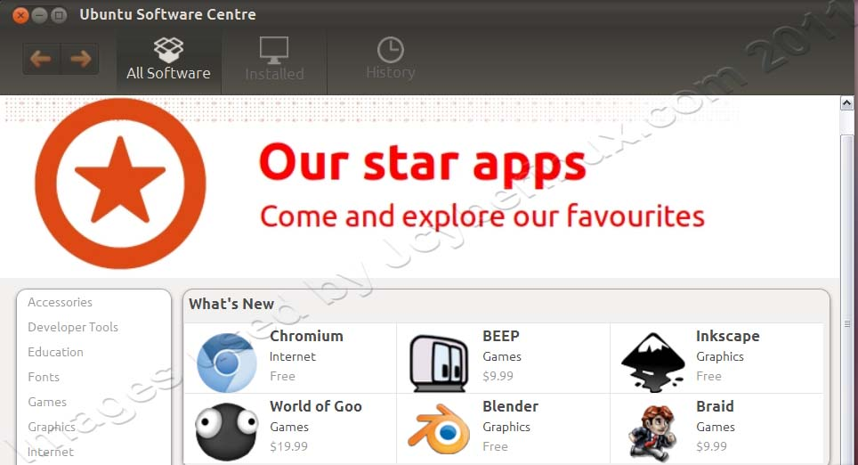How to Install Application using Ubuntu Software Centre on Ubuntu