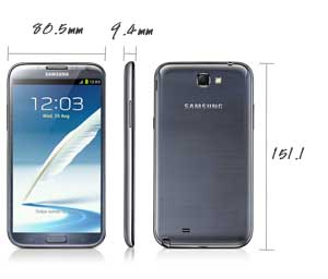 Samsung Galaxy Note II N7100 by Jcyberinux