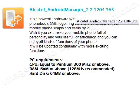 ALCATEL ONE TOUCH by Jcyberinux