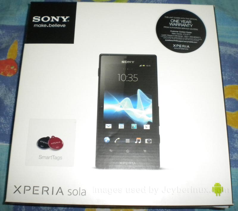 Sony Xperia Sola by Jcyberinux