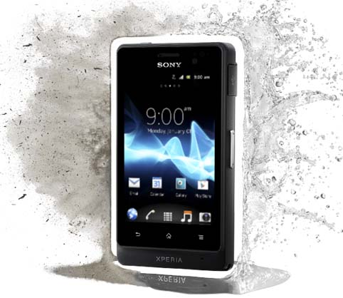 Sony Xperia go by Jcyberinux