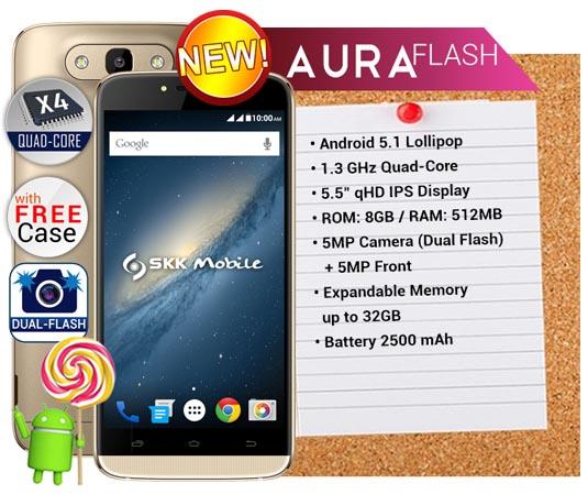 SKK Mobile Aura Flash
