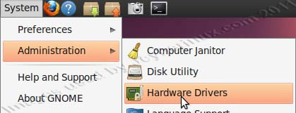 How to Install or Activate Graphic Card Driver using Ubuntu Hardware Drivers