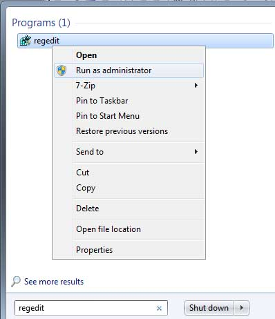 Unhide User or Admin Account on Windows 7 or Vista Welcome Screen