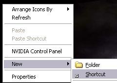 Automatic Shutdown via Shortcut Icon in Windows XP