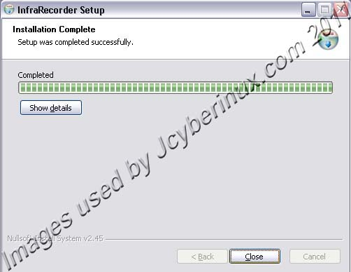 InfraRecorder – Free CD/DVD Burning Tool used by Jcyberinux