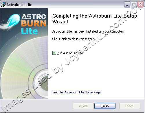 Astroburn Lite – Free CD/DVD Burning Tool used by Jcyberinux