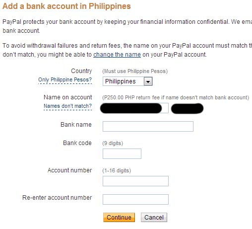 Withdraw your Money or Funds from PayPal to any Bank Account