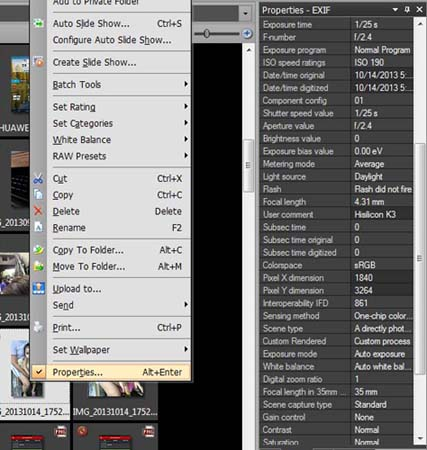 Remove or Change Exif Data from your Digital Images or Photos