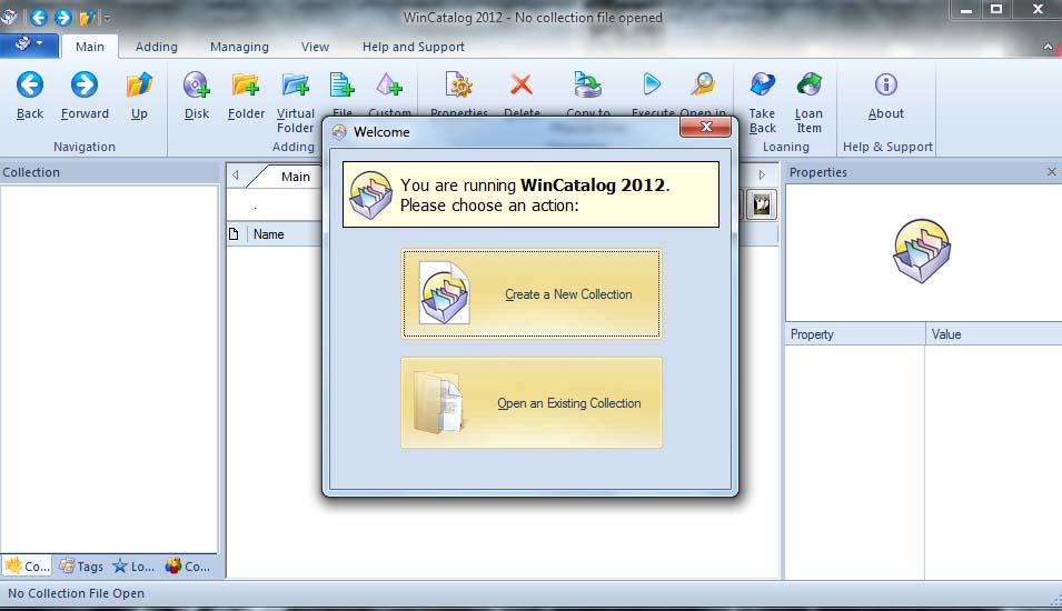 WinCatalog Media and Disk Drive Cataloging Software