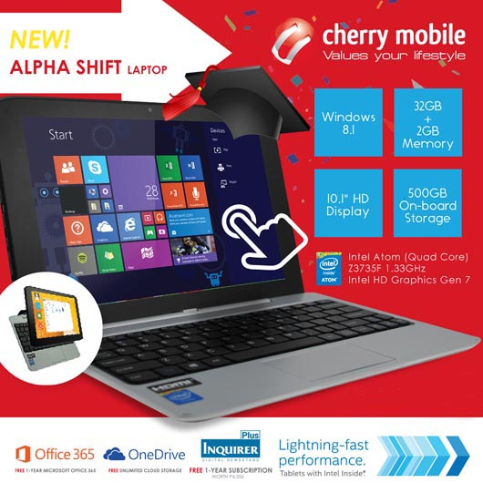 Cherry Mobile Alpha Shift