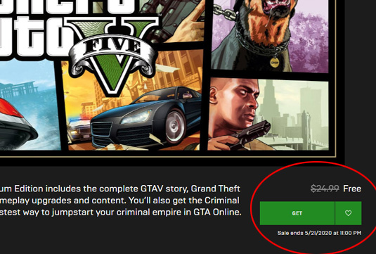 Epic Games - GTA V Premium Edition