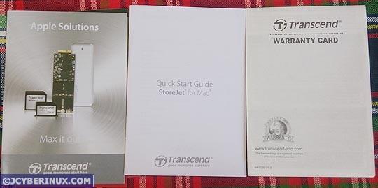 Transcend StoreJet 300 for Mac Portable HDD