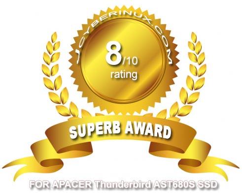 Apacer Thunderbird AST680S SSD