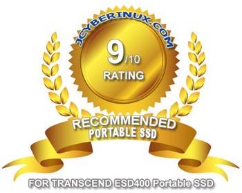 Transcend ESD400 Portable SSD